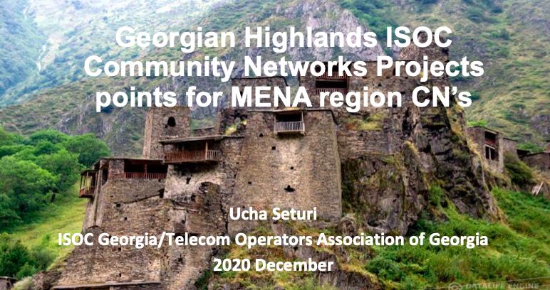 Georgian highlands Community Internet Projects